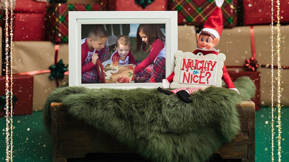 Naughty or Nice Elf - Digital Image