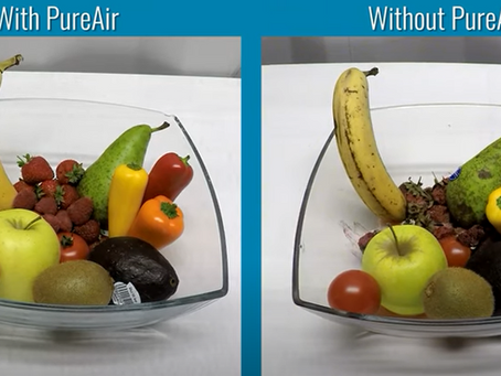 Airius PureAir: delší trvanlivost ovoce a zeleniny