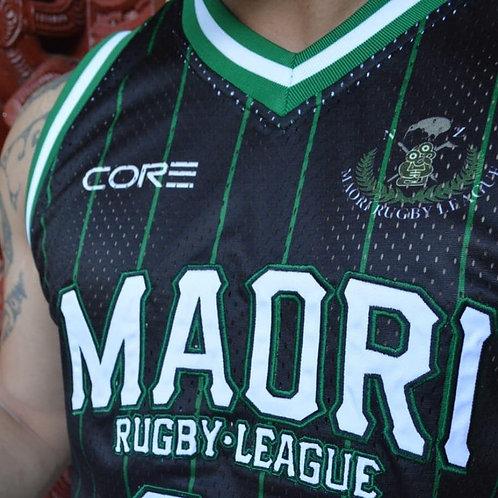NZMRL Black Basketball Singlets