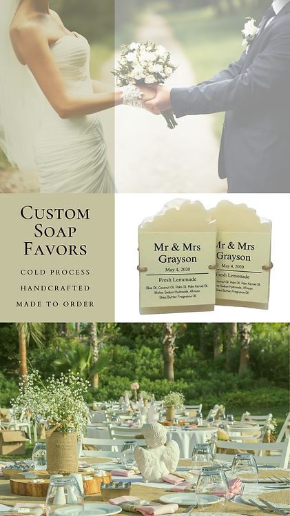 60 Custom Event Favors