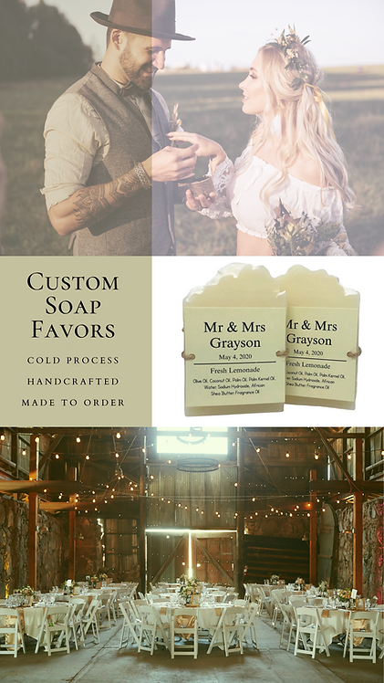 30 Custom Event Favors