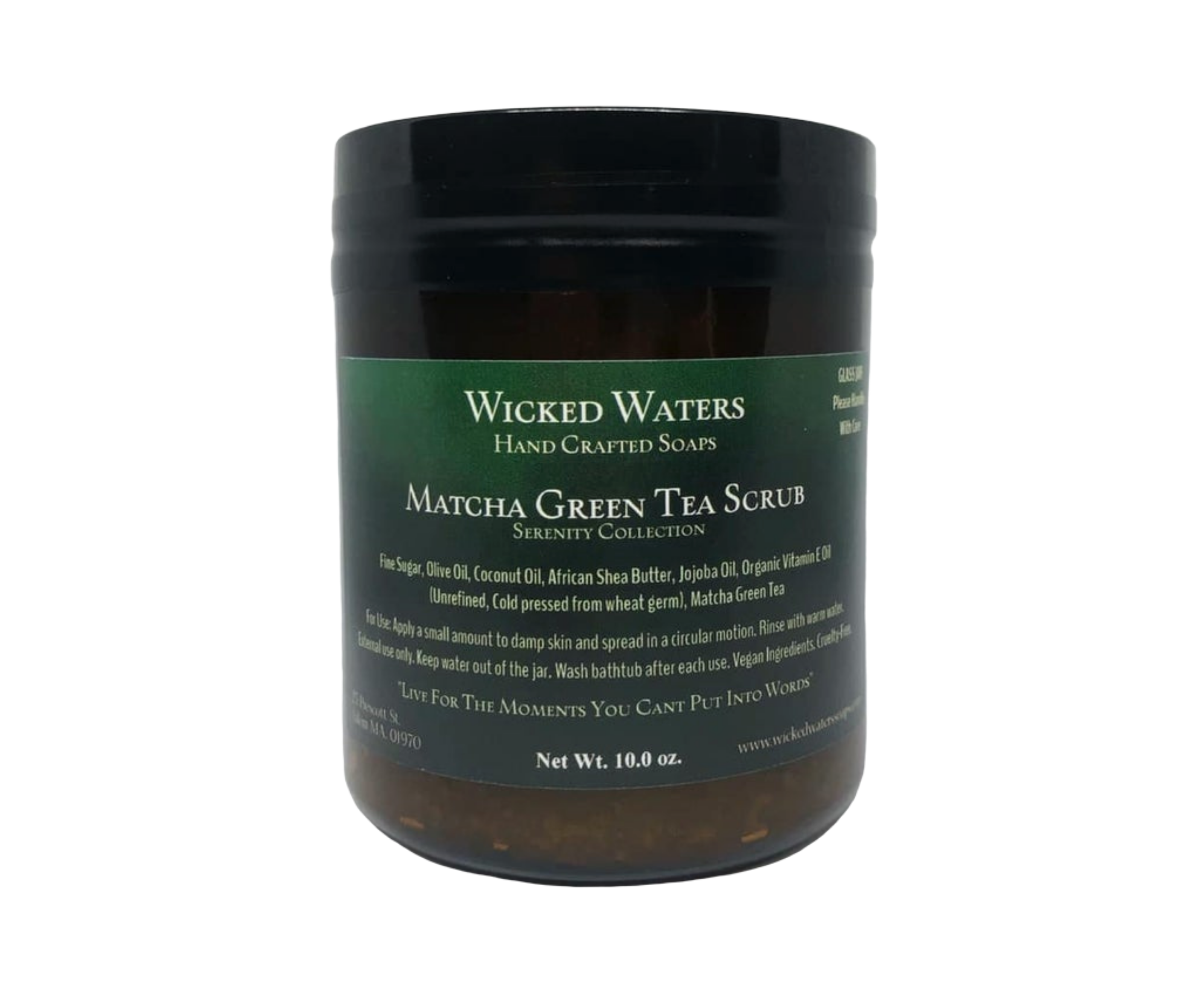 Matcha Green Tea Scrub 2820 X 2364