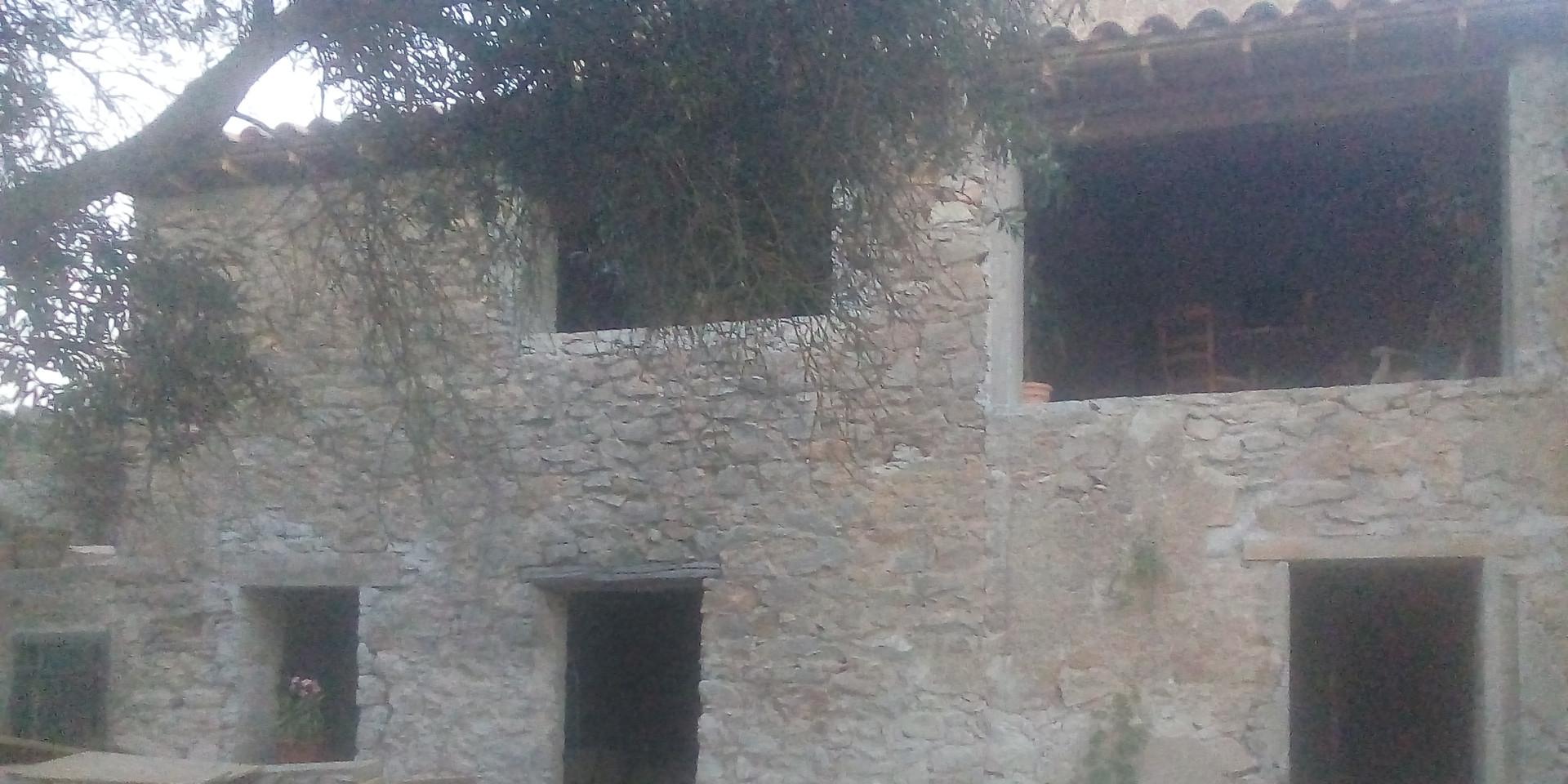 Rénovation d'une ruine