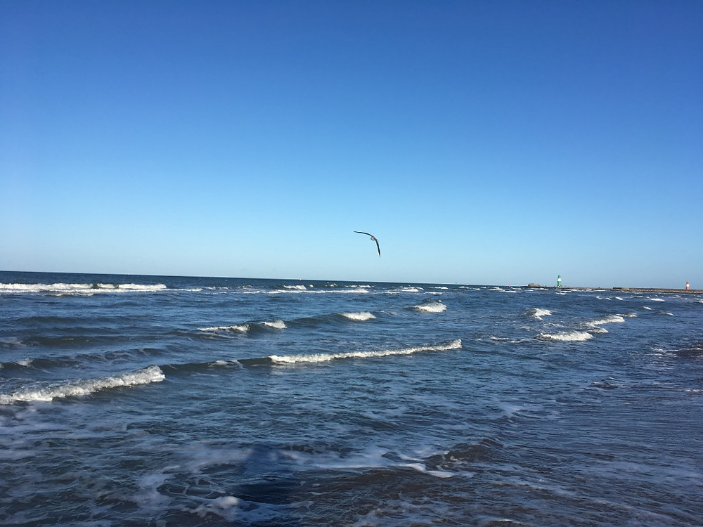 Möge über der Ostsee