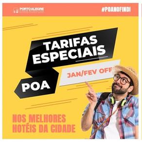 POACVB promove campanha para atrair visitantes nos finais de semana