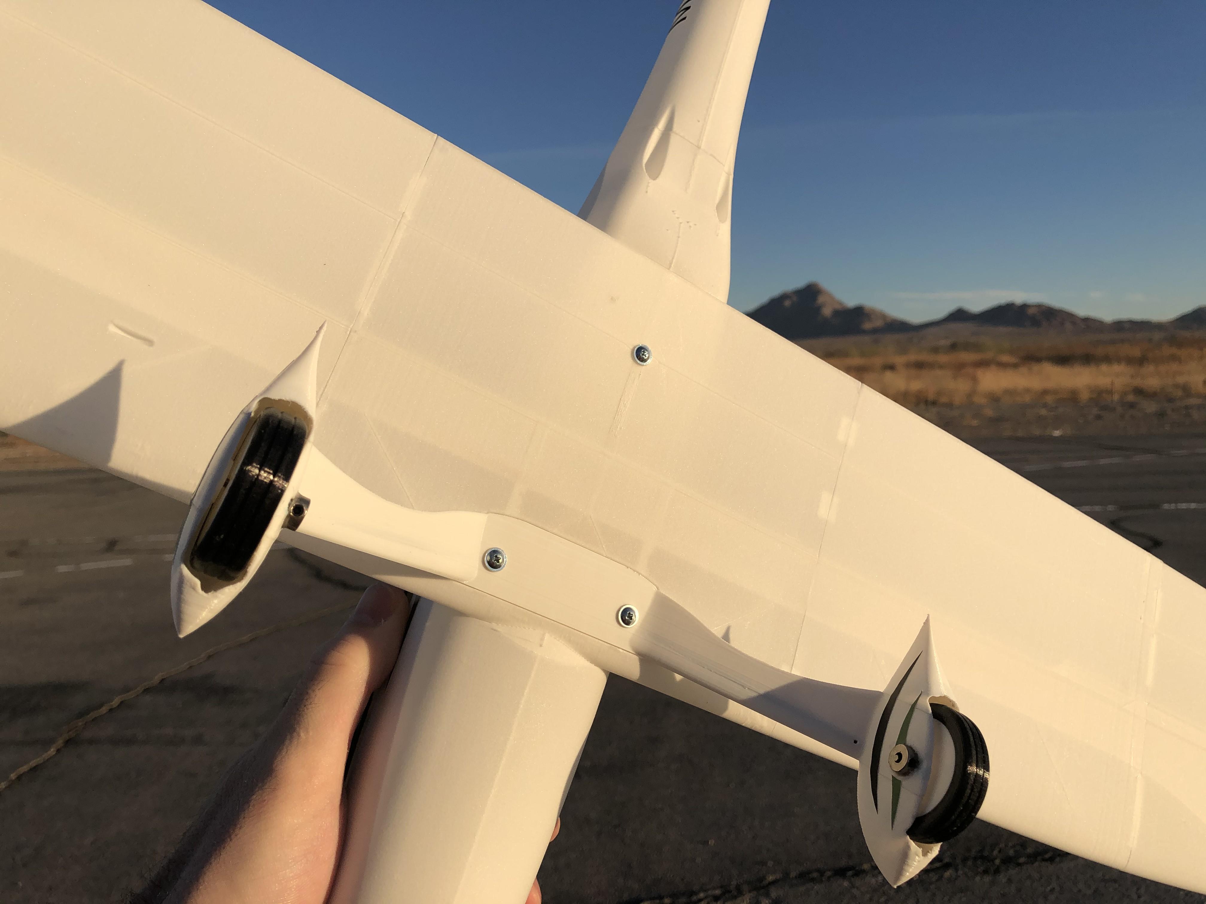 Stronger landing gear