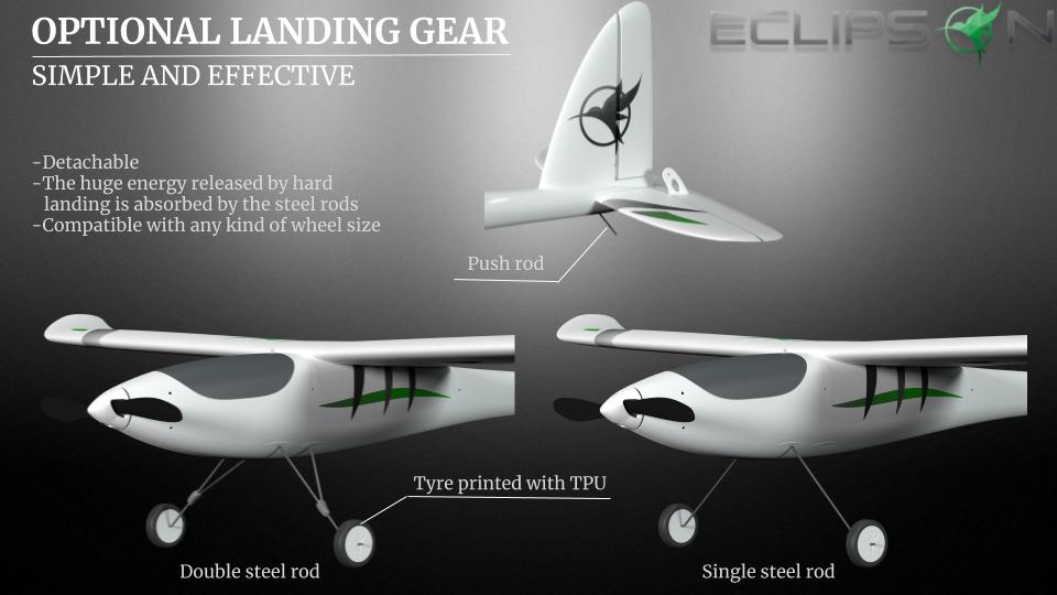 Strong landing gear design