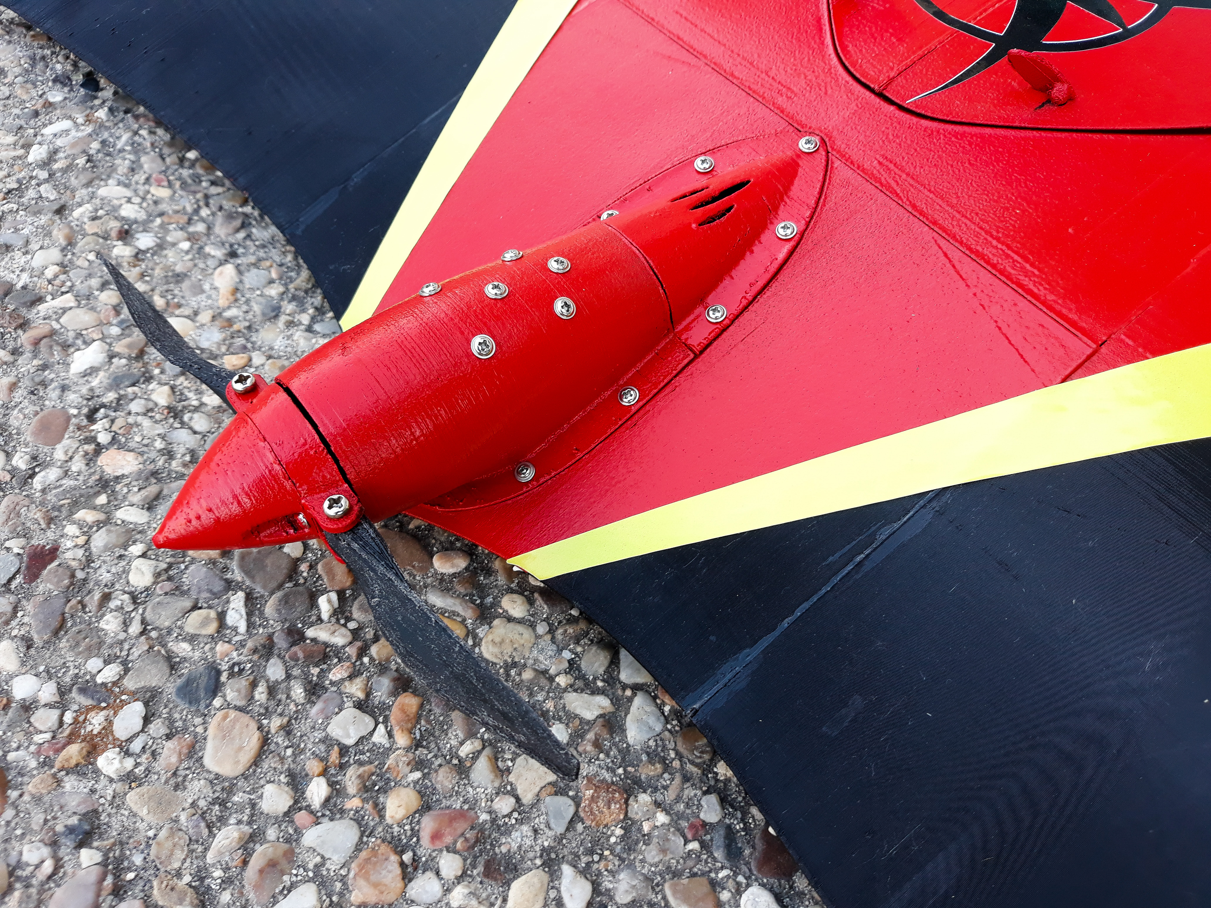 Folding propeller