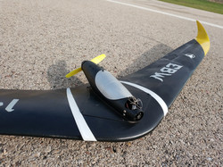 3D printed flying wing
