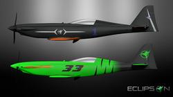 Model R, 3D printed racer