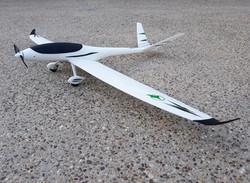 The lightest rc plane