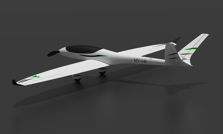 Isometric view - printable plane