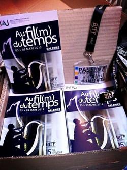 BJFF brochure pass et lanyards par ED