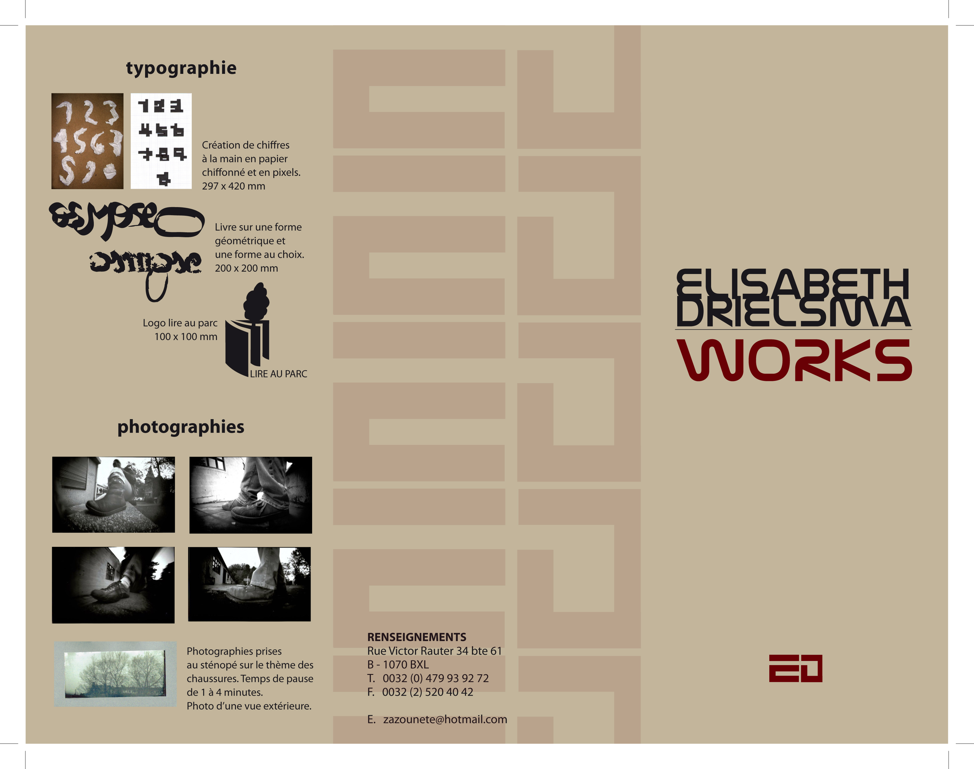 folder about my works 2008