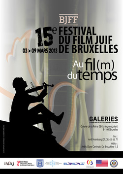 BJFF brussels jewish film festival affiche