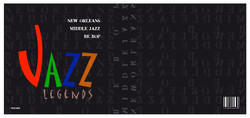 Jazz book cover layout 2008