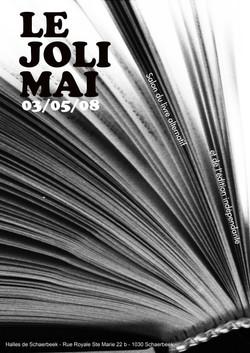Poster foire du livre 2008