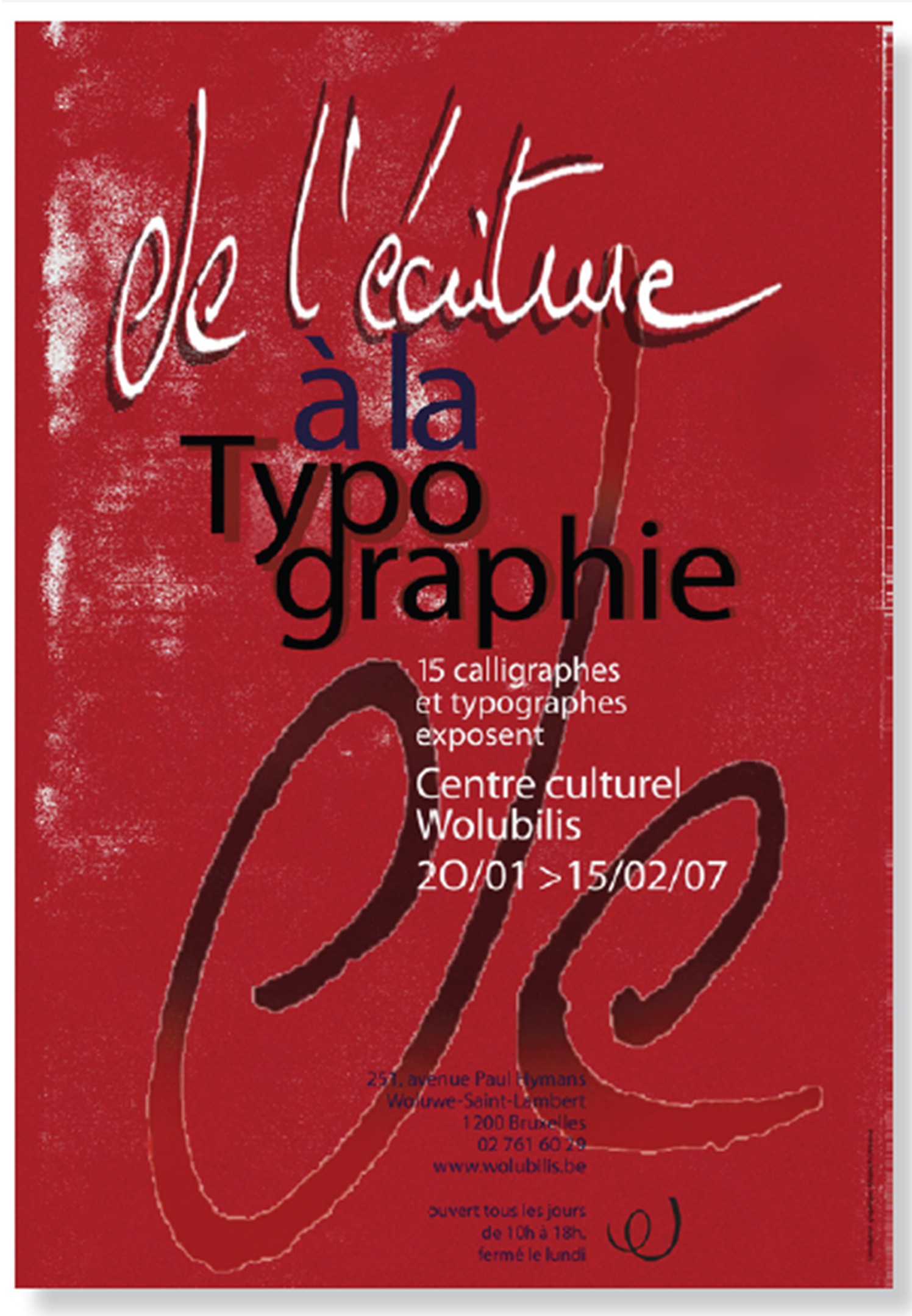 Typographic poster A2 2007