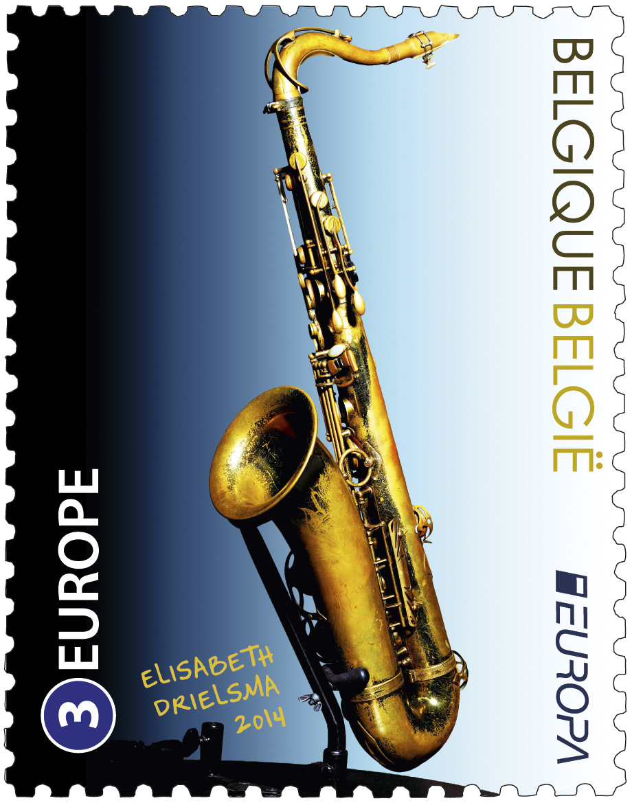 STAMP THE SAXOPHONE