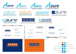 Azure Executive Solutions Logos&cards