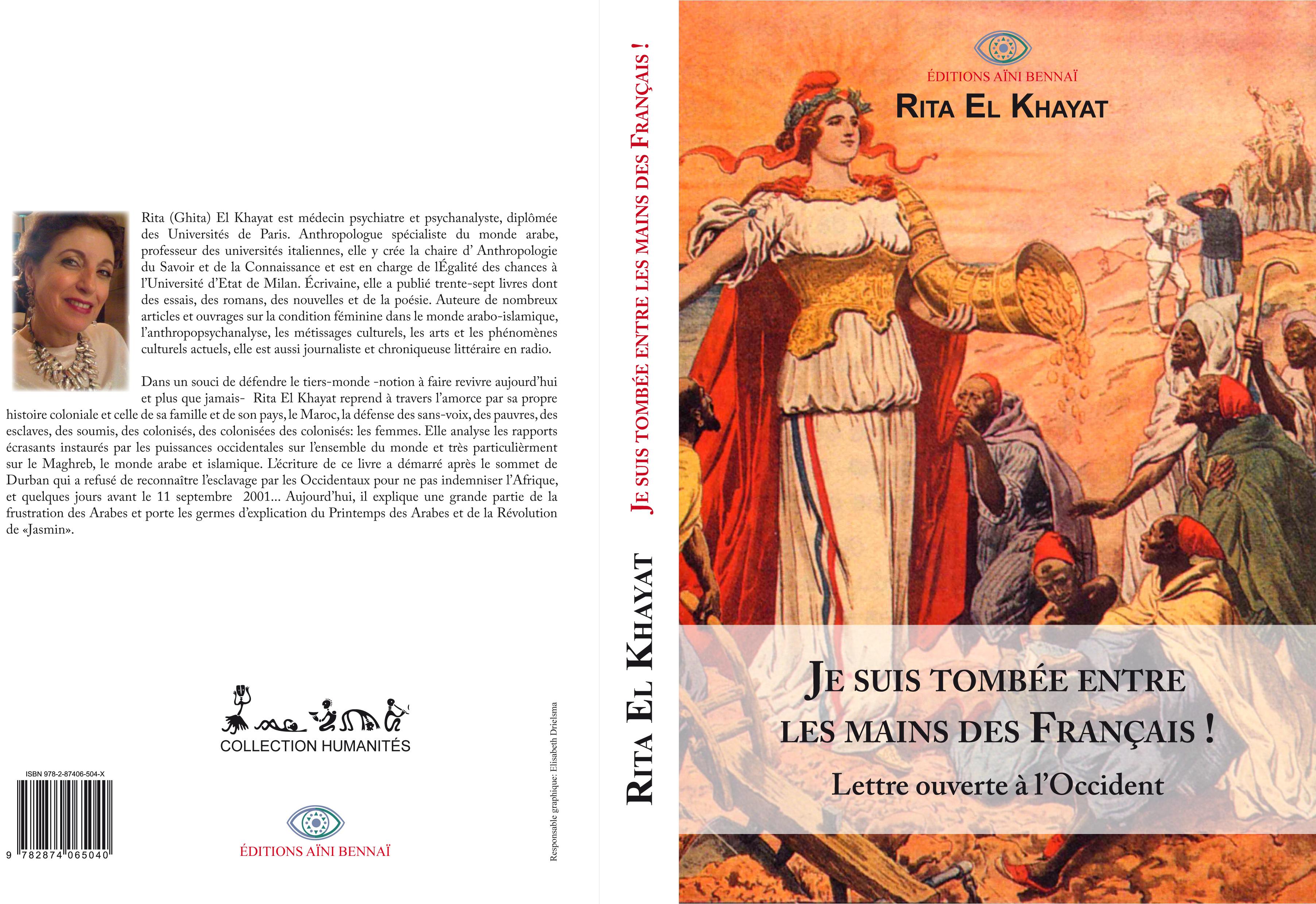 BOOK COVER RITA EL KHAYAT OK