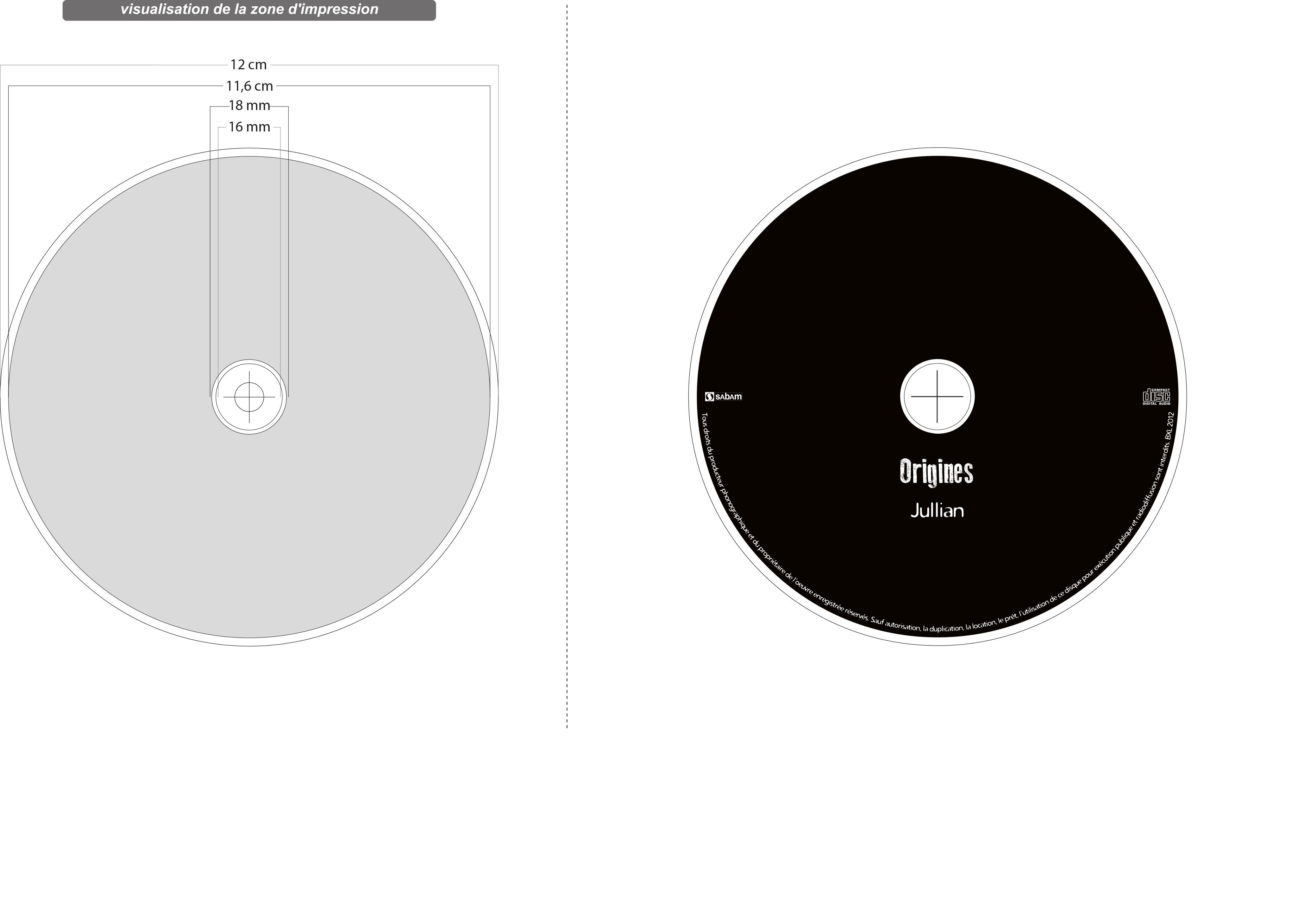CD Origines 2012