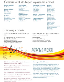 Brochure winter programme 2013