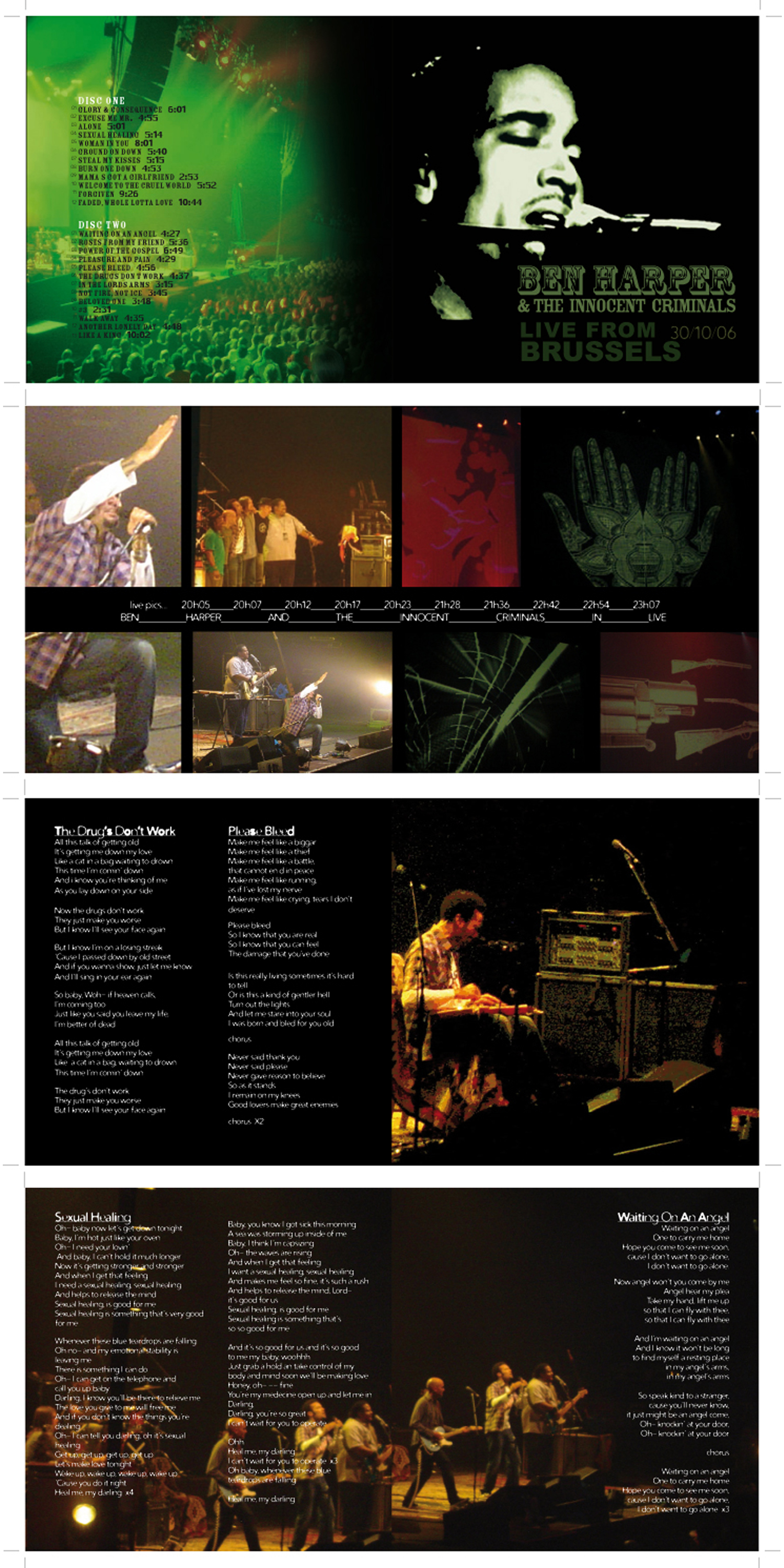 Ben Harper CD booklet-3 2007