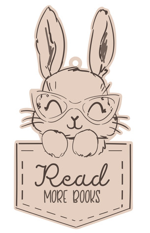 Nursery Wall Sign - Rabbit