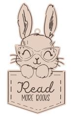 Nursery Wall Sign - Rabbit