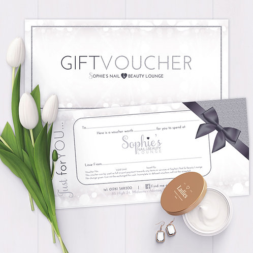 Gift Vouchers (Double Sided)