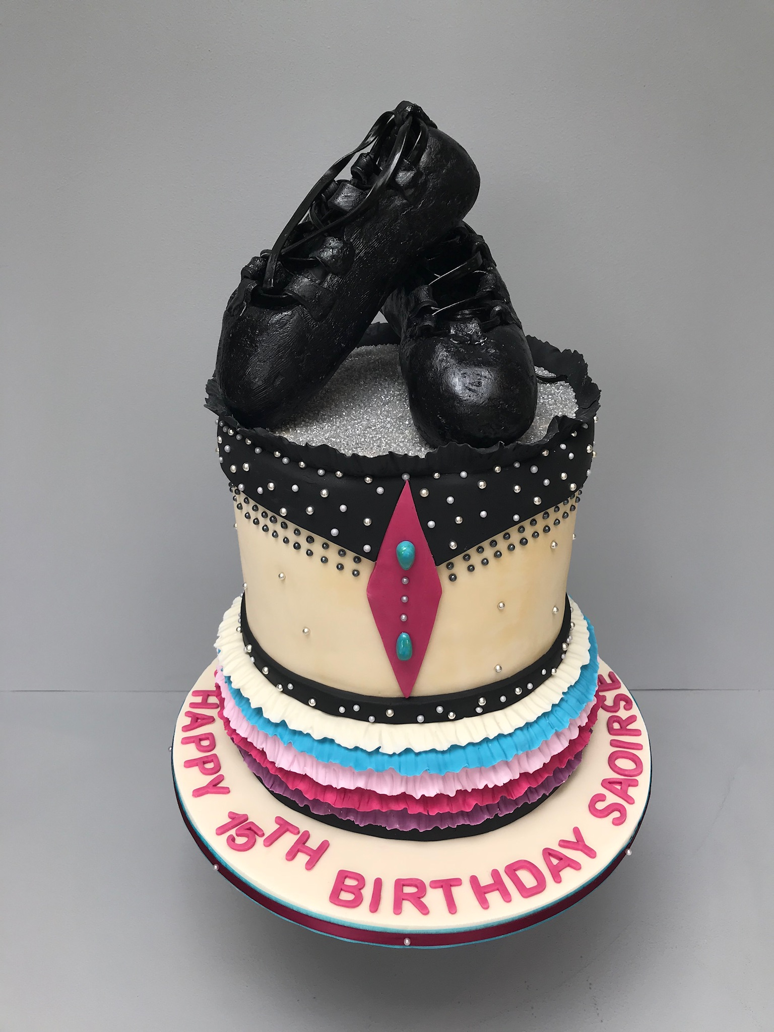 Irish Dancing Cake