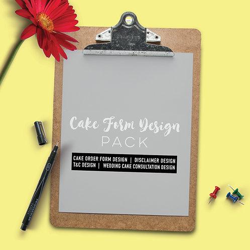 Cake Form Design Pack
