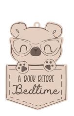 Nursery Wall Sign- Bear