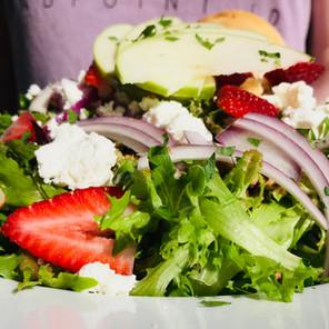 Spud's Nutty Goat Salad