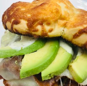 Spud's Monteray Breakfast Sandwich