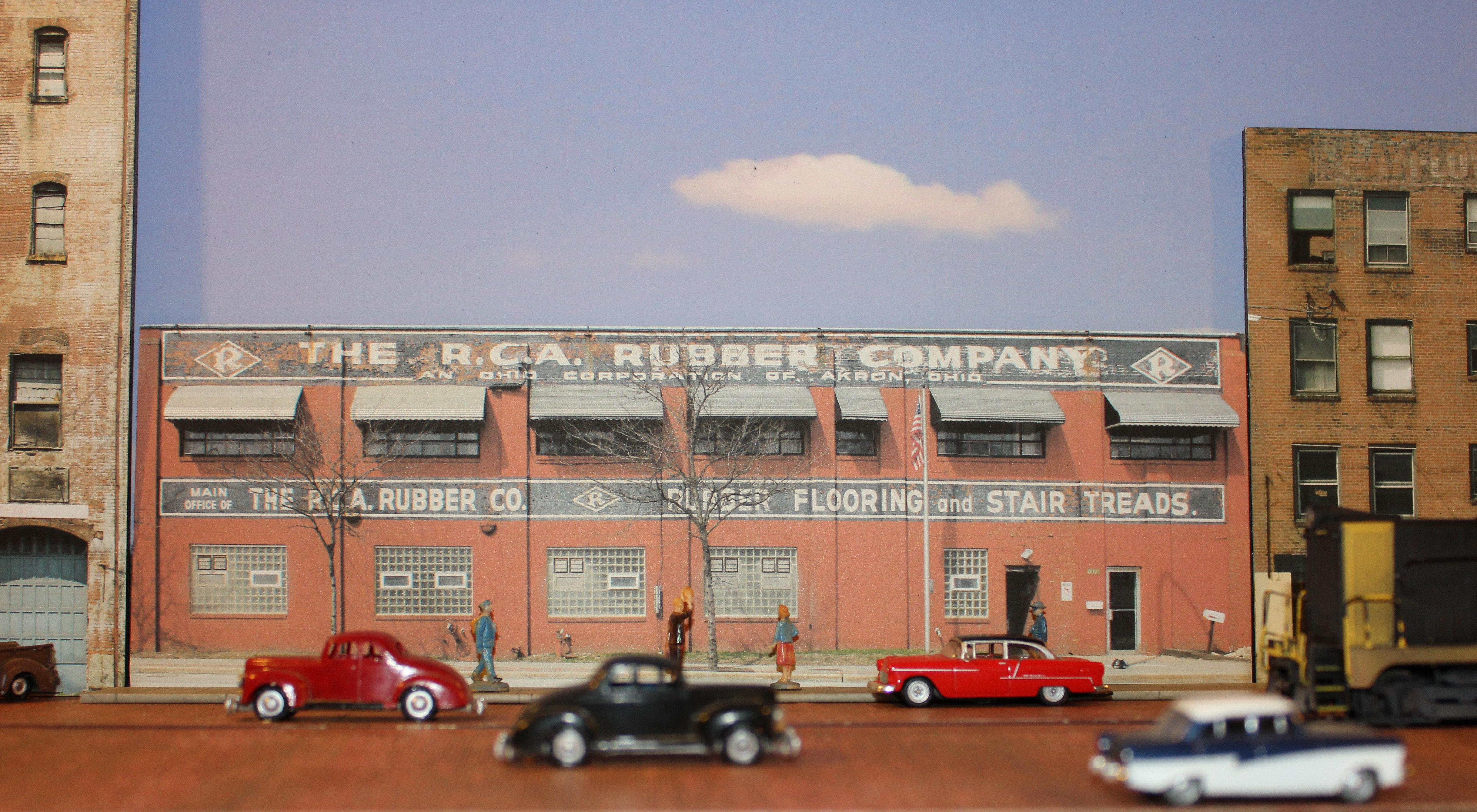 163 Ho Rca Rubber Flats
