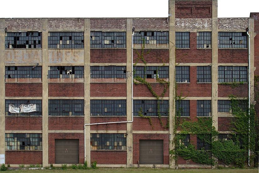#102 HO Abandoned Factory 2