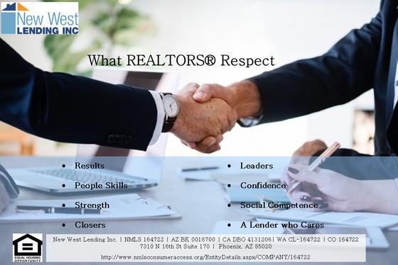 What REALTORS Respect