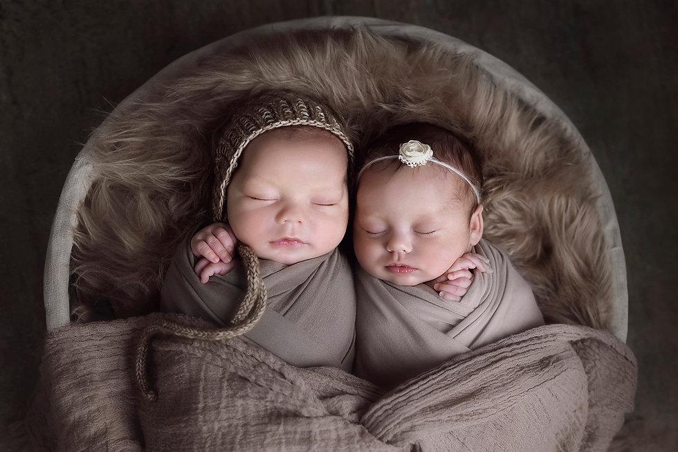 newborn tweeling fotografie