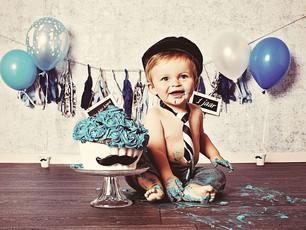 Cake smash = FUN!