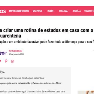 8 DICAS PARA CRIAR UMA ROTINA DE ESTUDOS EM CASA COM SEU FILHO DURANTE A QUARENTENA