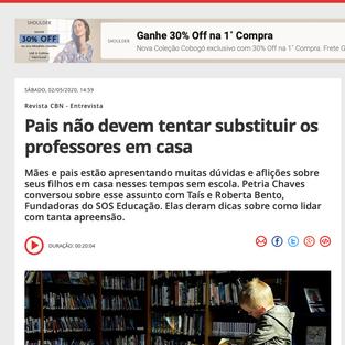 PAIS NÃO DEVEM TENTAR SUBSTITUIR OS PROFESSORES EM CASA