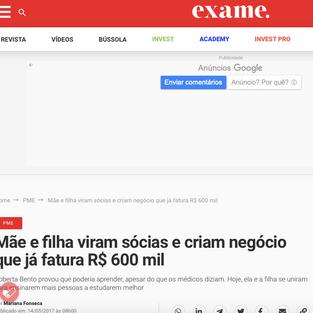 ENTREVISTA EXAME.COM