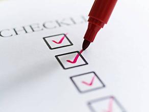 Checklist Pré ENEM  – além da caneta e do RG