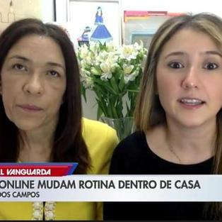 PAIS E ALUNOS TENTAM SE ADAPTAR À ROTINA DE ESTUDOS EM CASA