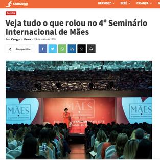 REVISTA CANGURU - SEMINÁRIO DE MÃES