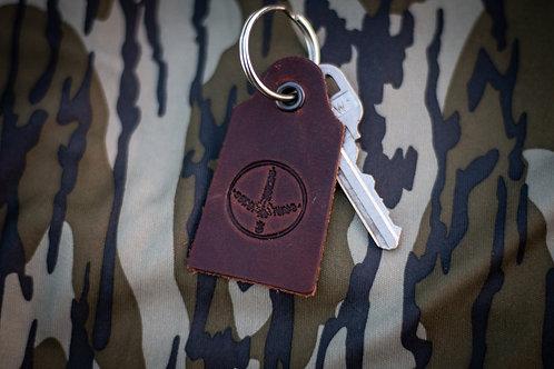 Leather Tab KeyChain