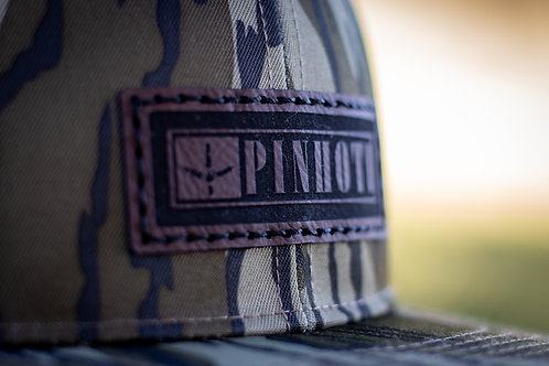 Richardson Bottomland Hat- BlackOut Banner Patch