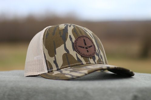 Pinhoti Bottomland Mesh Back Patch Hat- Circle
